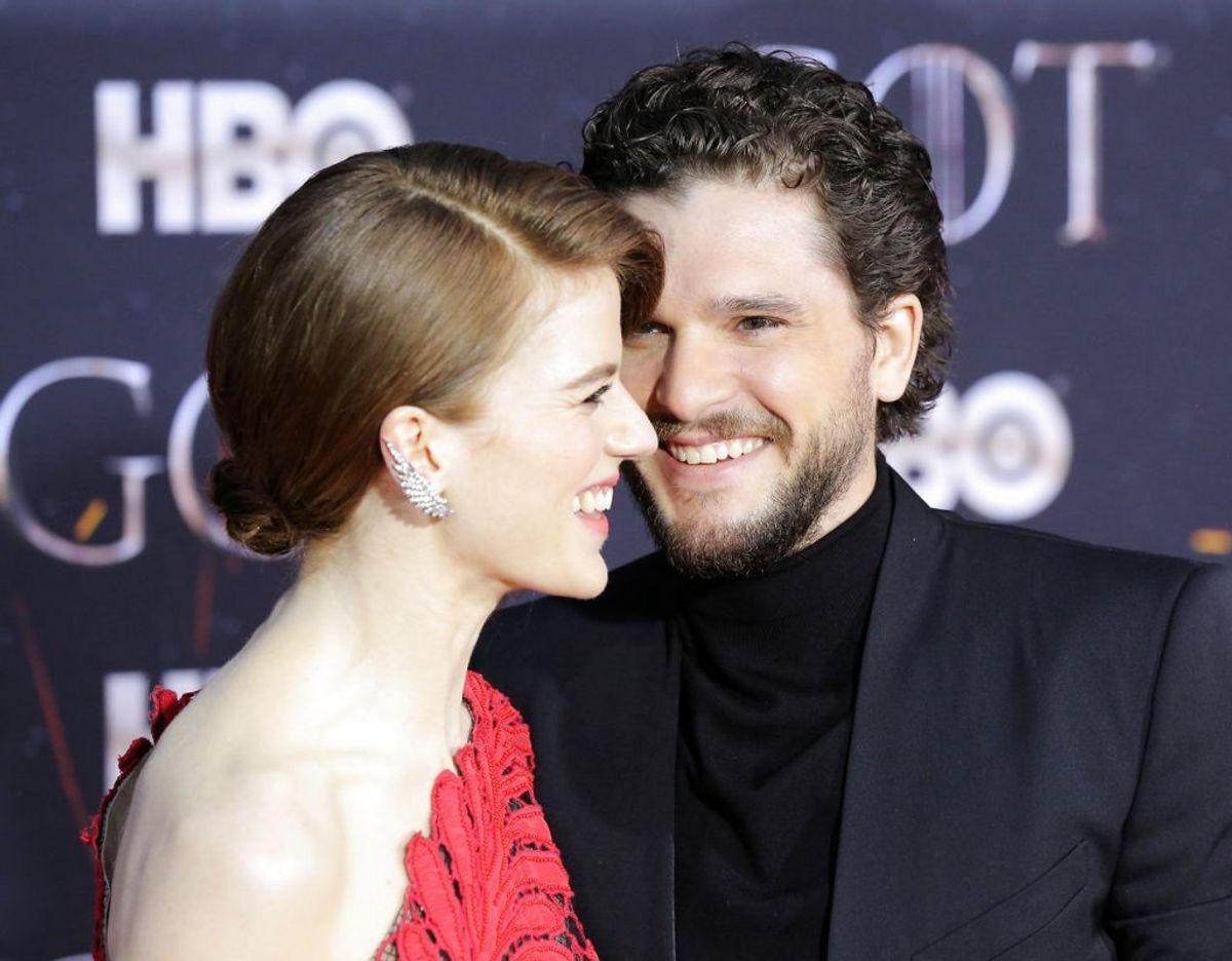 De to stjerner, der blev gift på et slot i Skotland i 2018, blev set sammen som par første gang ved Olivier Awards i London i 2016. Klik videre for flere billeder. Foto: Scanpix/REUTERS/Caitlin Ochs