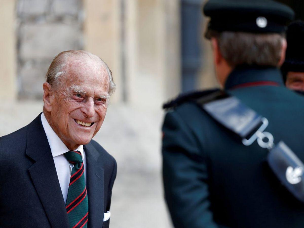 Prins Philip er blevet indlagt. Foto: Scanpix.