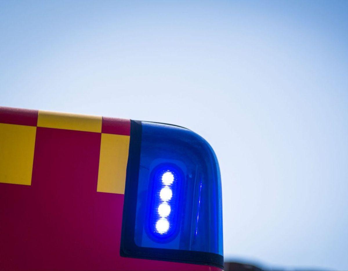 Beredskab Øst er rykket ud til to trafikulykker på Helsingørmotorvejen. Foto: Ritzau Scanpix