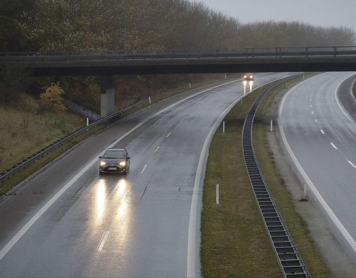 Onsdag bliver vejret diset, tåget og ikke mindst regnfuldt. Foto: Ritzau Scanpix