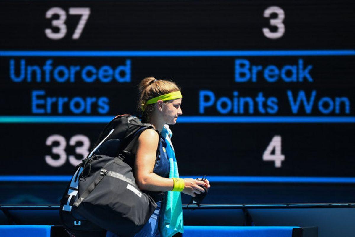 Karolina Muchova (foto) får amerikansk modstand i semifinalen, efter at hun overraskende sendte Australiens Ashleigh Barty ud i kvartfinalen onsdag. Foto: William West/AFP