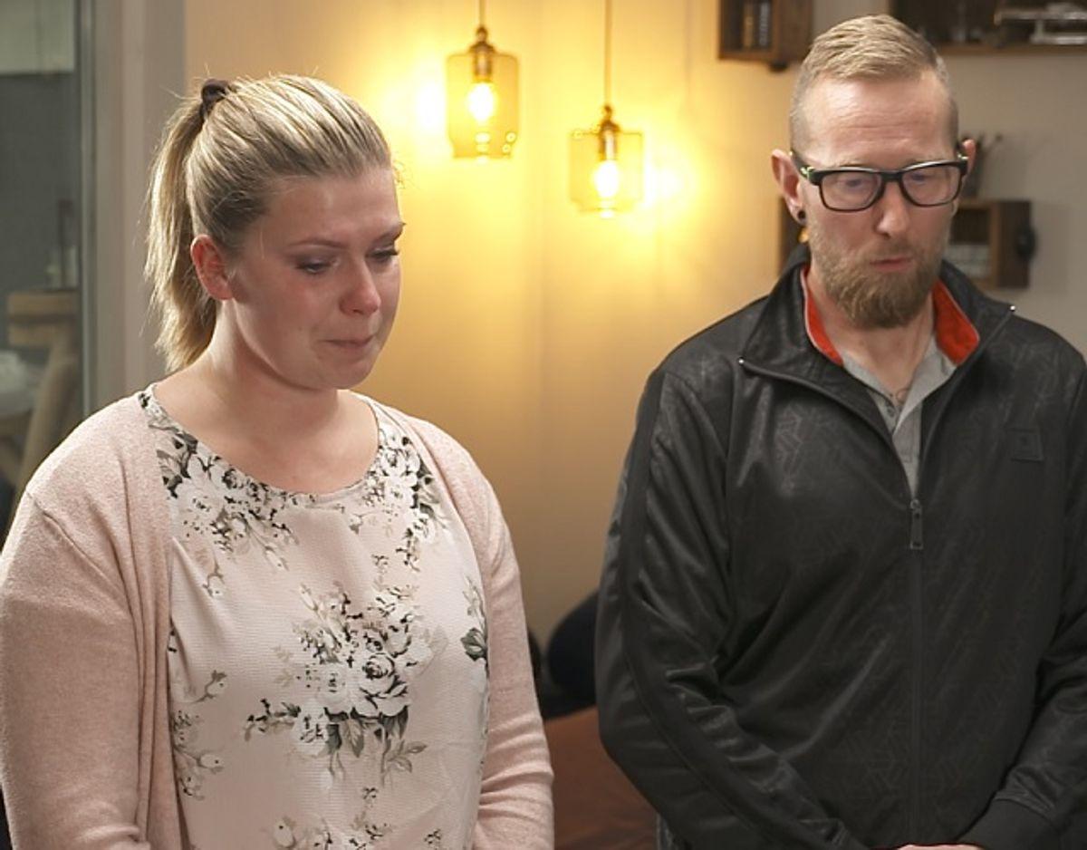 Det var hårdt at være med, synes parret. Foto: PR-foto/Nordic Entertainment Group
