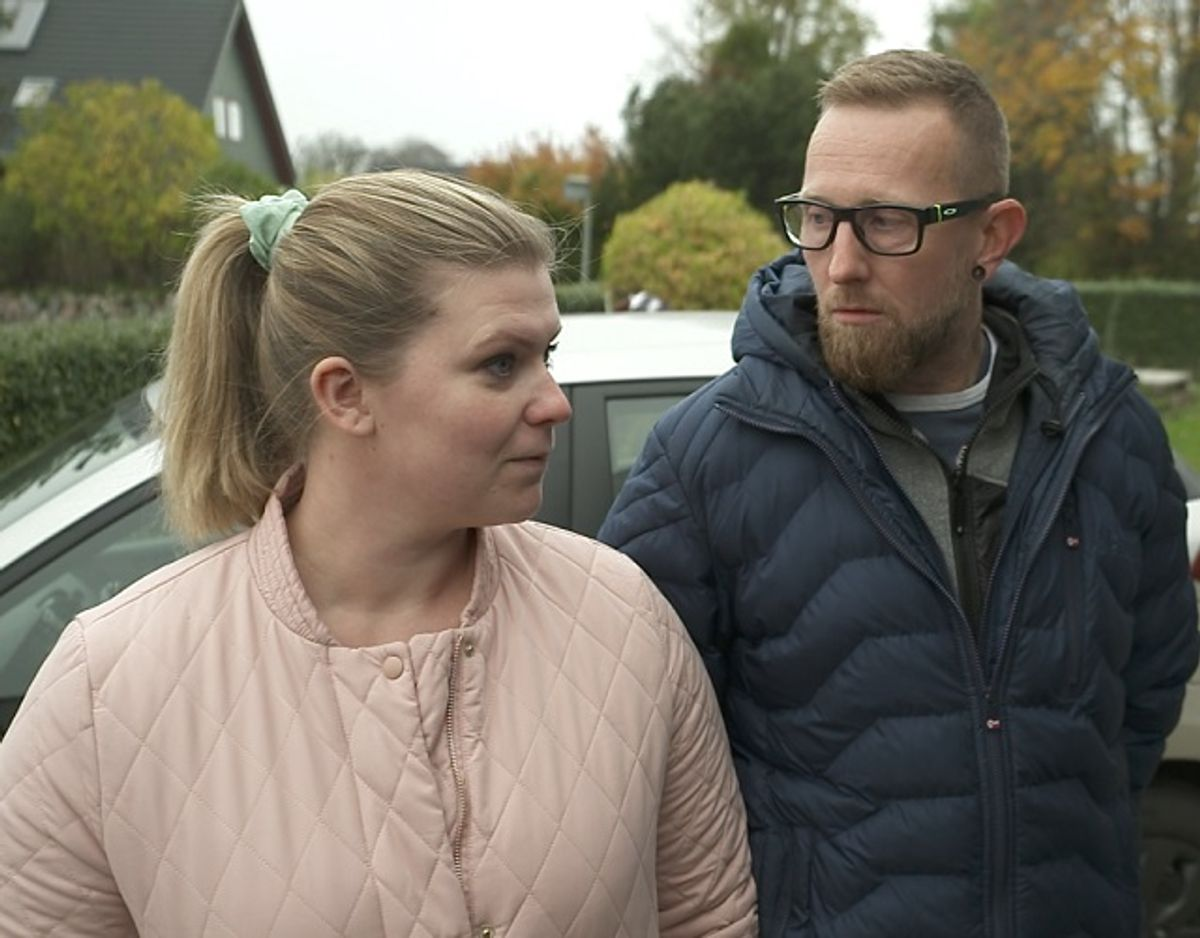 Parforholdet kommer til at stå sin prøve i aftenens udgave af Luksusfælden. Foto: PR-foto/Nordic Entertainment Group