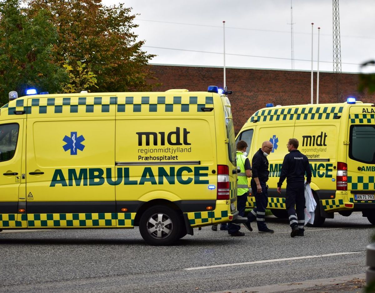 Ulykken kostede en 23-årig kvinde livet. Foto: Øxenholt Foto.