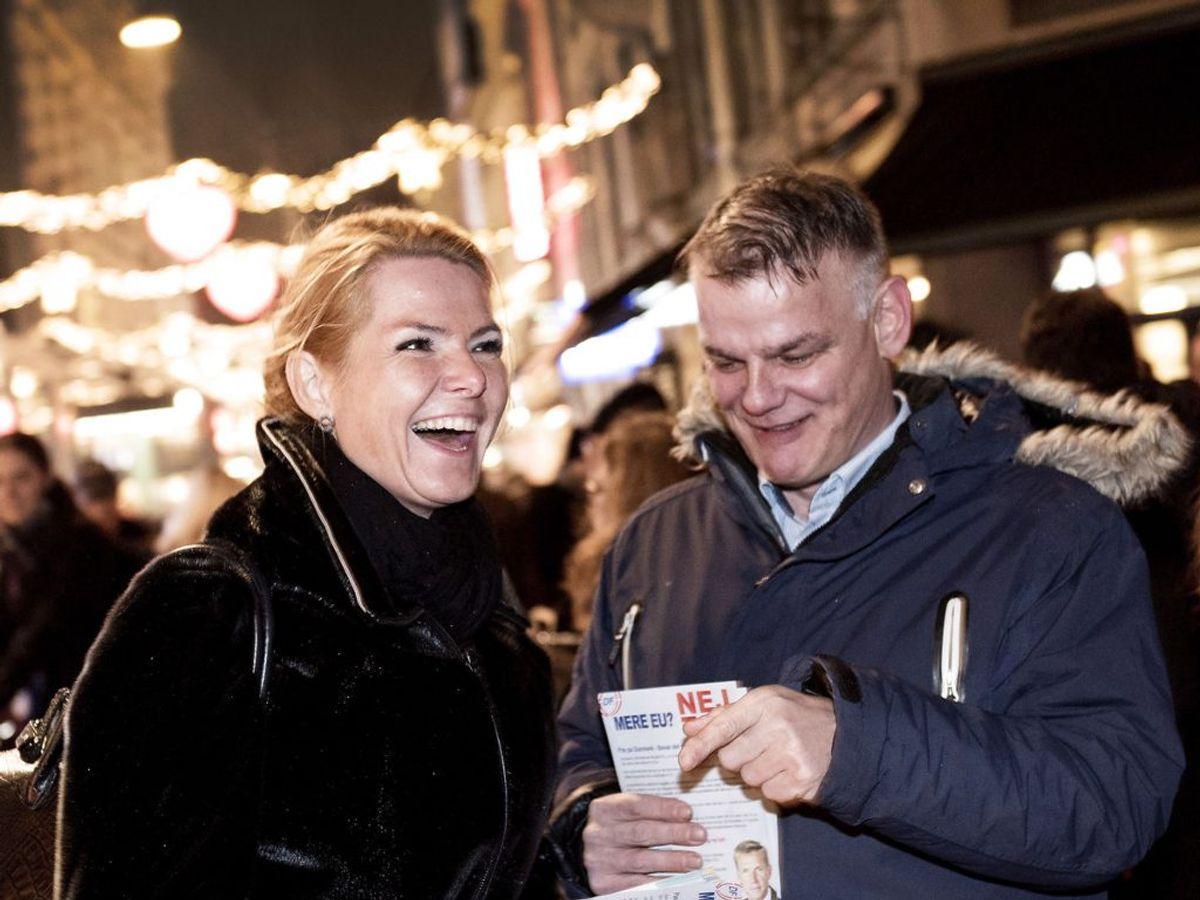 Christian Langballe  (th.) er valgt til Rigsretten. Han er kendt som varm fortaler for Inger Støjberg. (Foto: Linda Kastrup/Scanpix 2015)