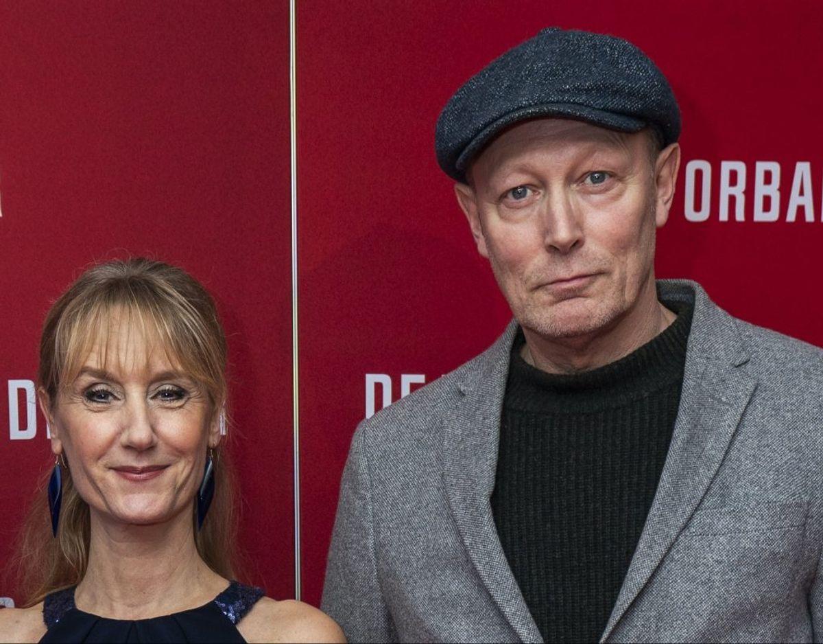 Anette Støvelbæk og Lars Mikkelsen har været gift siden 1989. De spiller begge med i seneste sæson af Badehotellet. Foto: Scanpix.