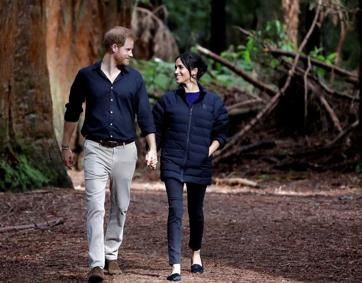 Harry og Meghan lod først bomben sprænge efter de havde informeret deres royale familie i Storbritannien. Foto: Scanpix/Kirsty Wigglesworth/Pool via REUTERS