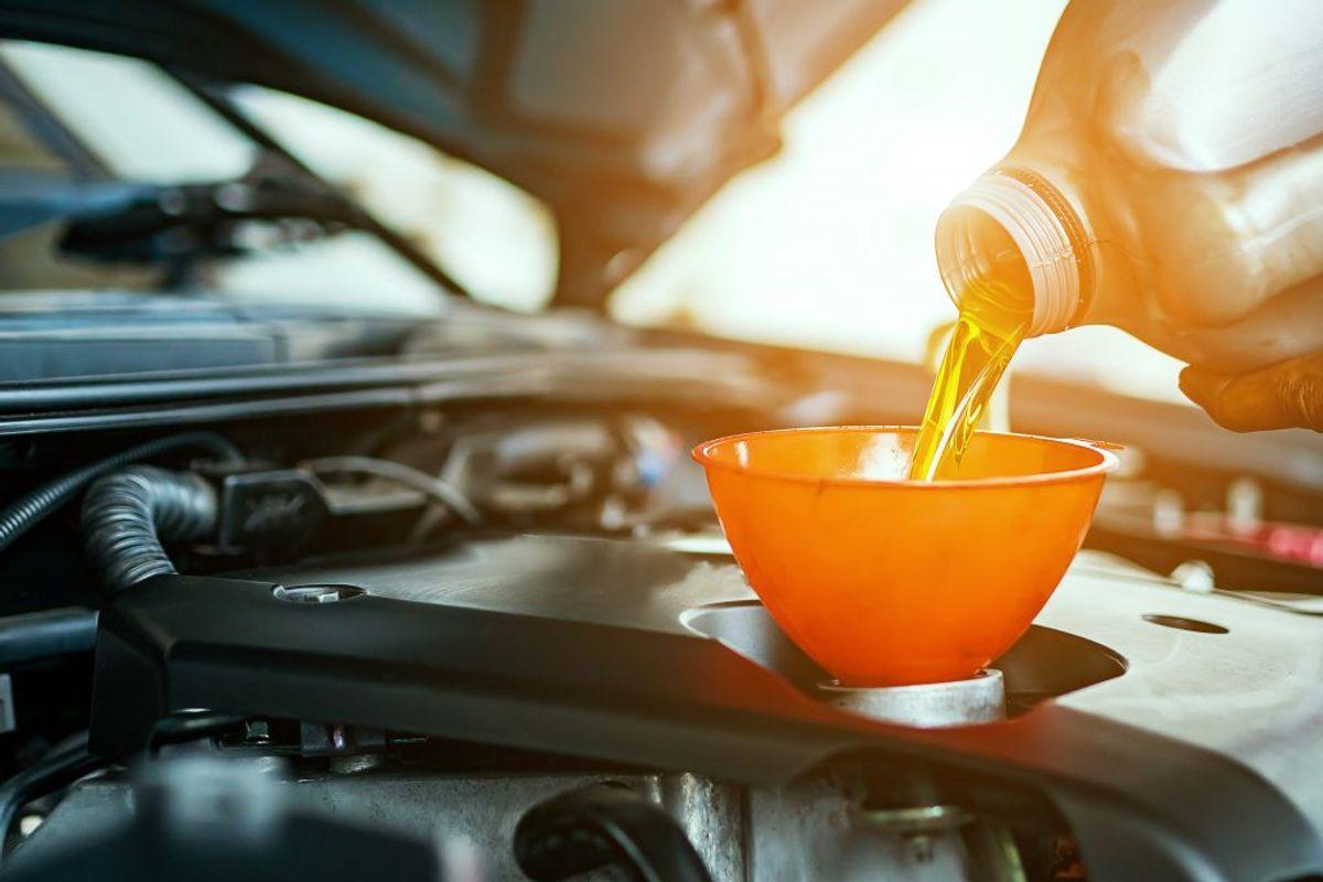 Skift til tyndere olie.  Kilde: Bilmagasinet. Foto: Ritzau Scanpix.