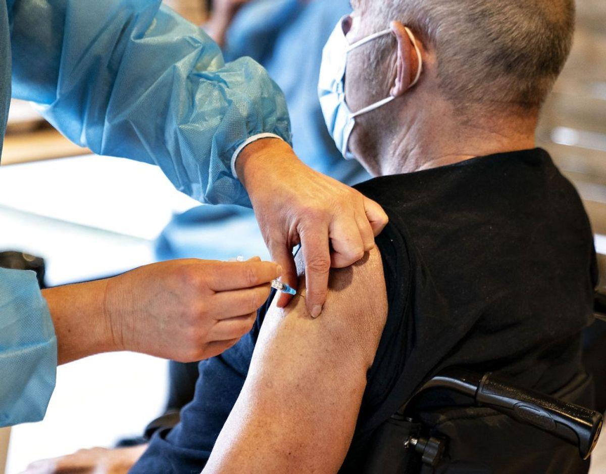 Der er udsigt til hurtigere vaccination af danskerne. (Foto: Henning Bagger/Ritzau Scanpix)