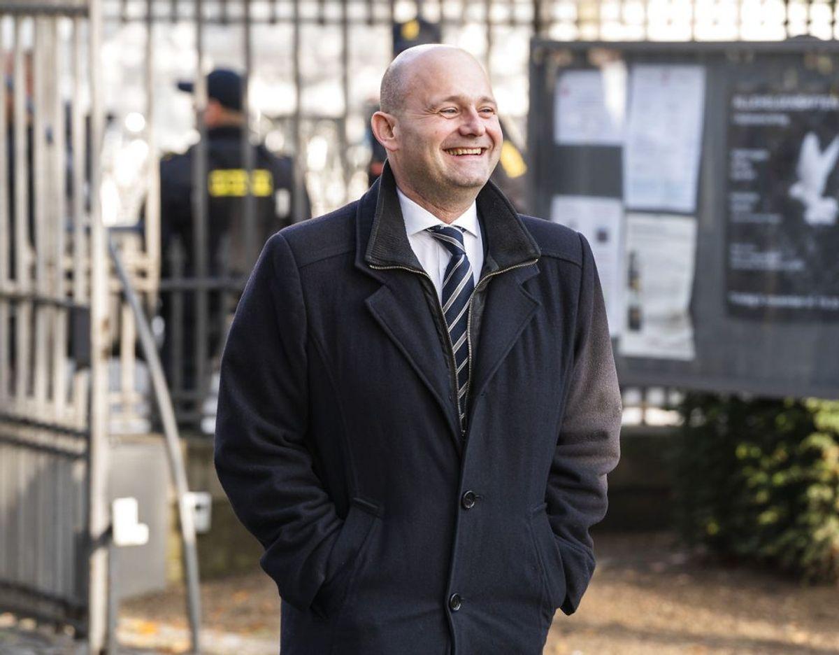 Søren Pape (C) har grund til at smile for tiden. (Foto: Martin Sylvest)