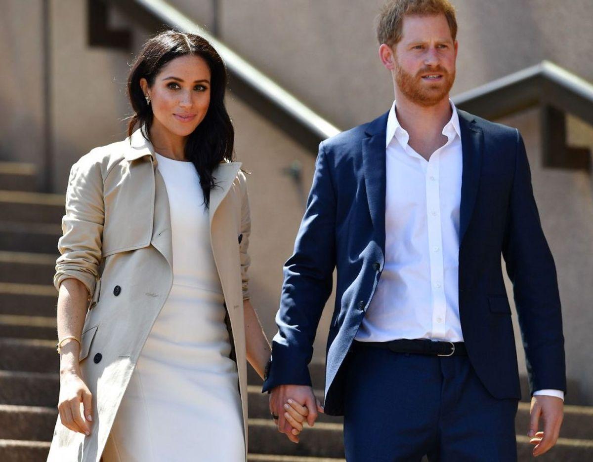 Meghan Markle og prins Harry skal være forældre igen. Arkivfoto: Ritzau Scanpix.
