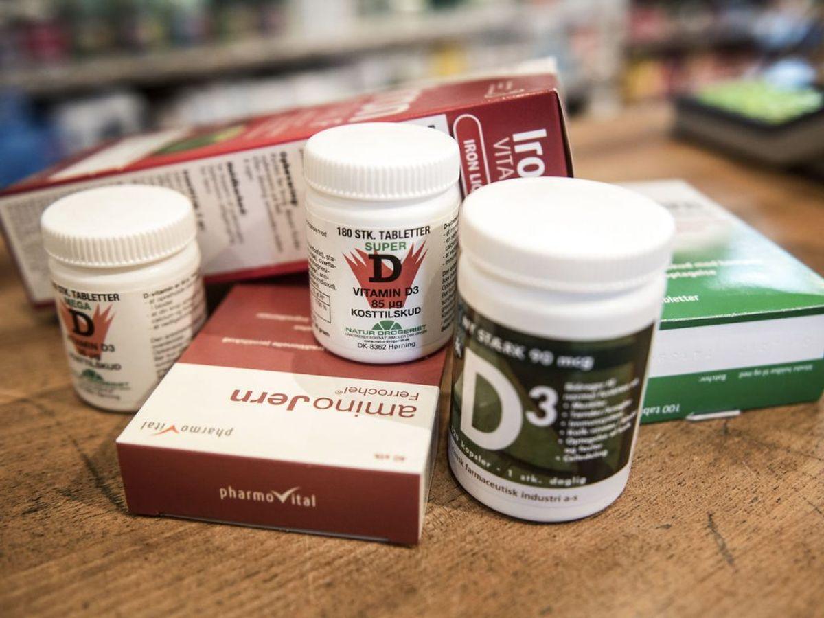 Der er flere fødevarer, du kan spise, hvis du mangler D-vitamin. KLIK VIDERE OG SE 10 EKSEMPLER. Foto: Scanpix.