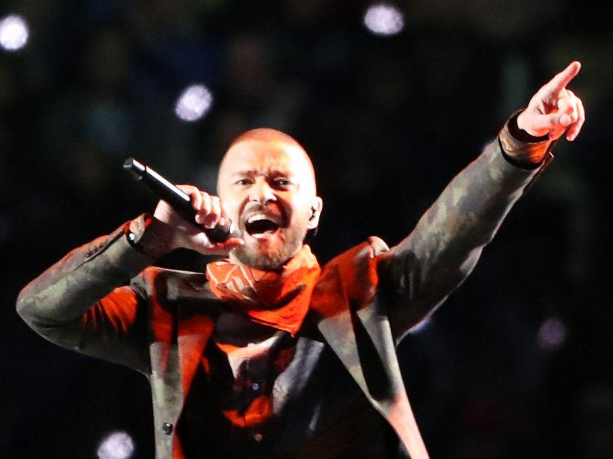 Justin Timberlake siger undskyld til blandt andre Britney Spears og Janet Jackson. Foto: Scanpix.