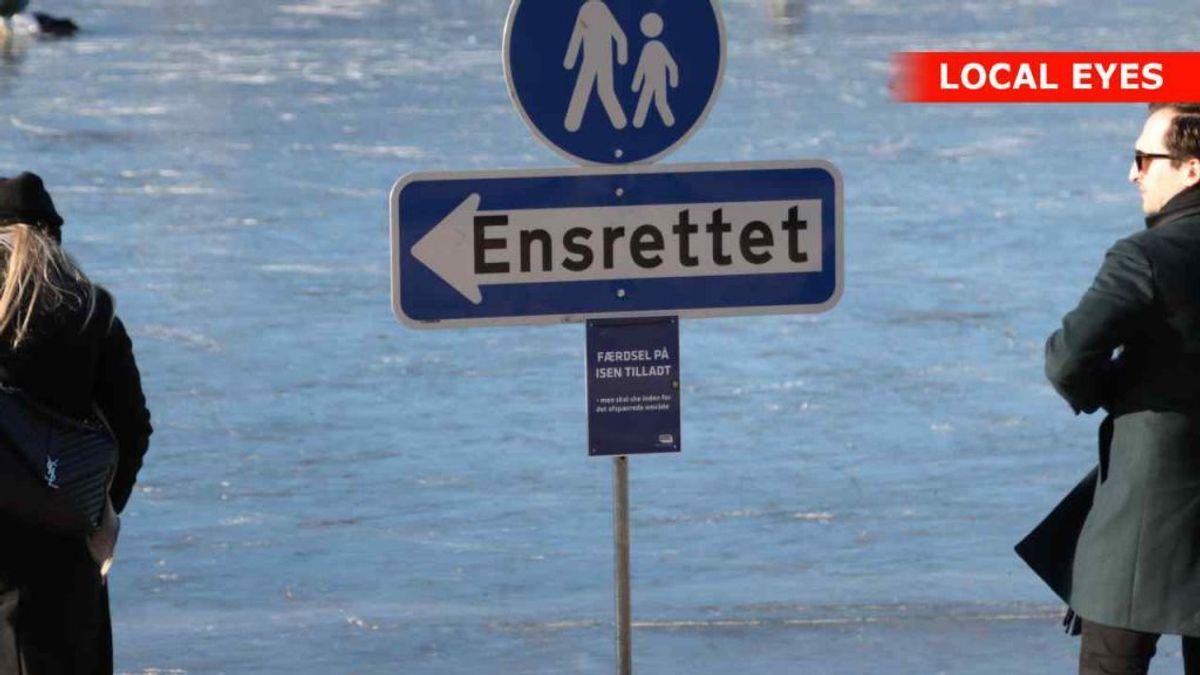 Her er det Peblinge Sø. Foto: Local Eyes.