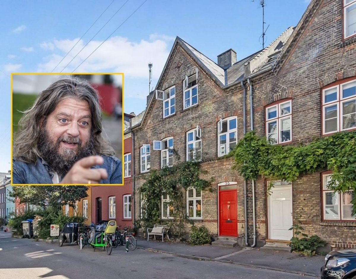 Anders Lund Madsen bor ikke længere i sit eksklusive Østerbro-hus. det har han solgt for 15,8 millioner kroner. Foto: Boliga.dk/Ritzau Scanpix.