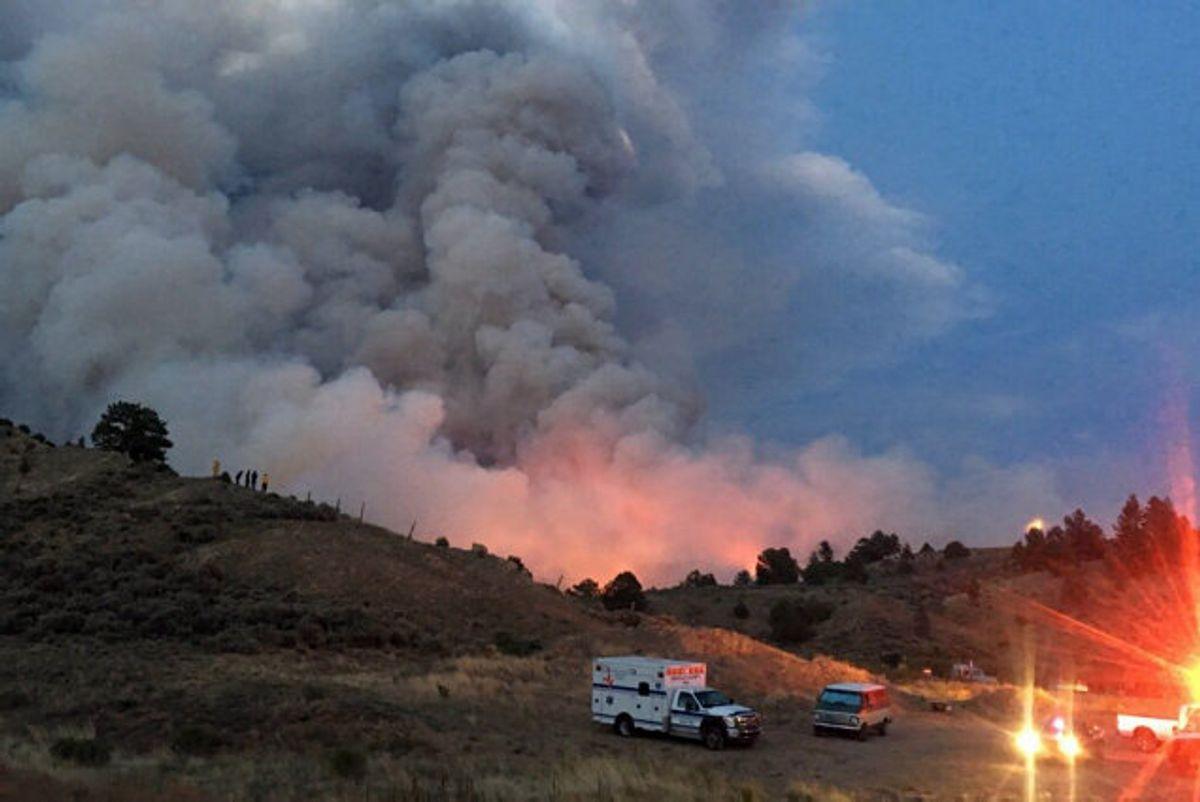 En 54-årig dansk mand er mistænkt for at have startet en af de værste skovbrande i Colorados historie. Han nægter sig skyldig, men er psykisk syg og ude at stand til at gennemføre en retssag.(Arkivfoto). Foto: Unknown/Scanpix