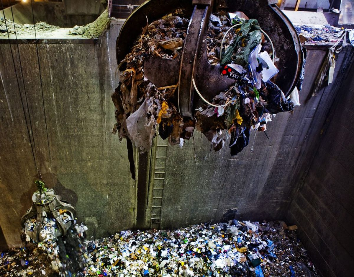 Myndigheder afviser KL's plan for affaldsforbrænding. Foto: Scanpix.