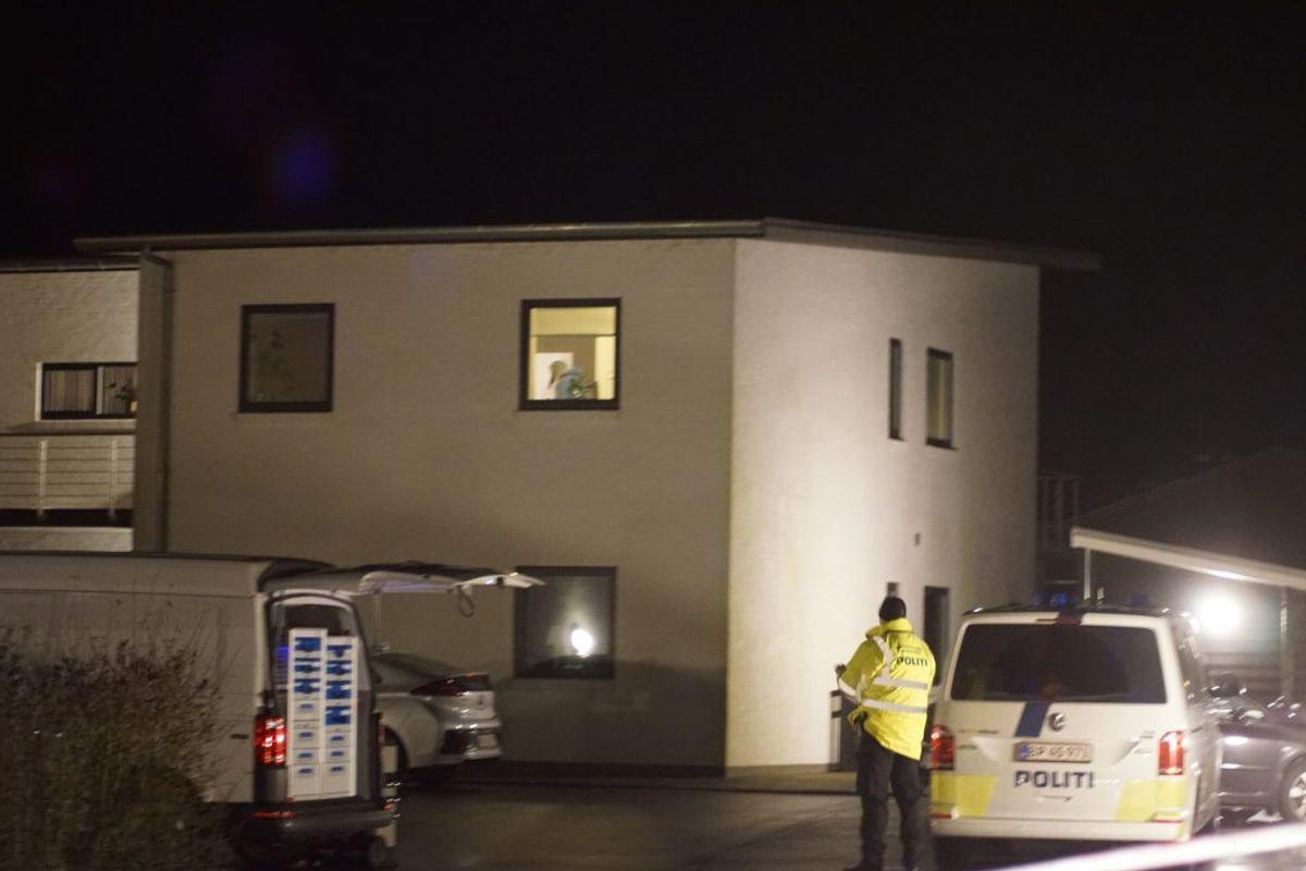 En 40-årig kvinde blev dræbt. Foto: Presse-fotos.dk