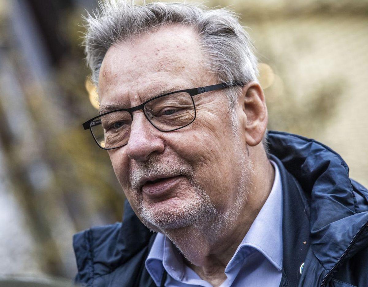 Ole Bjørstorp blev vraget af partiet efter flere års interne uenigheder i byrådsgruppen.  (Foto: Olafur Steinar Gestsson/Scanpix)