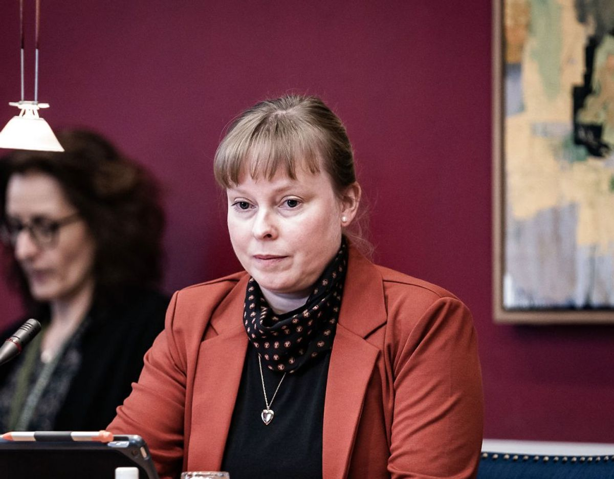 Kirsten Langkilde har aldrig selv talt med Joy Mogensen, siger hun. (Foto: Emil Helms/Scanpix)