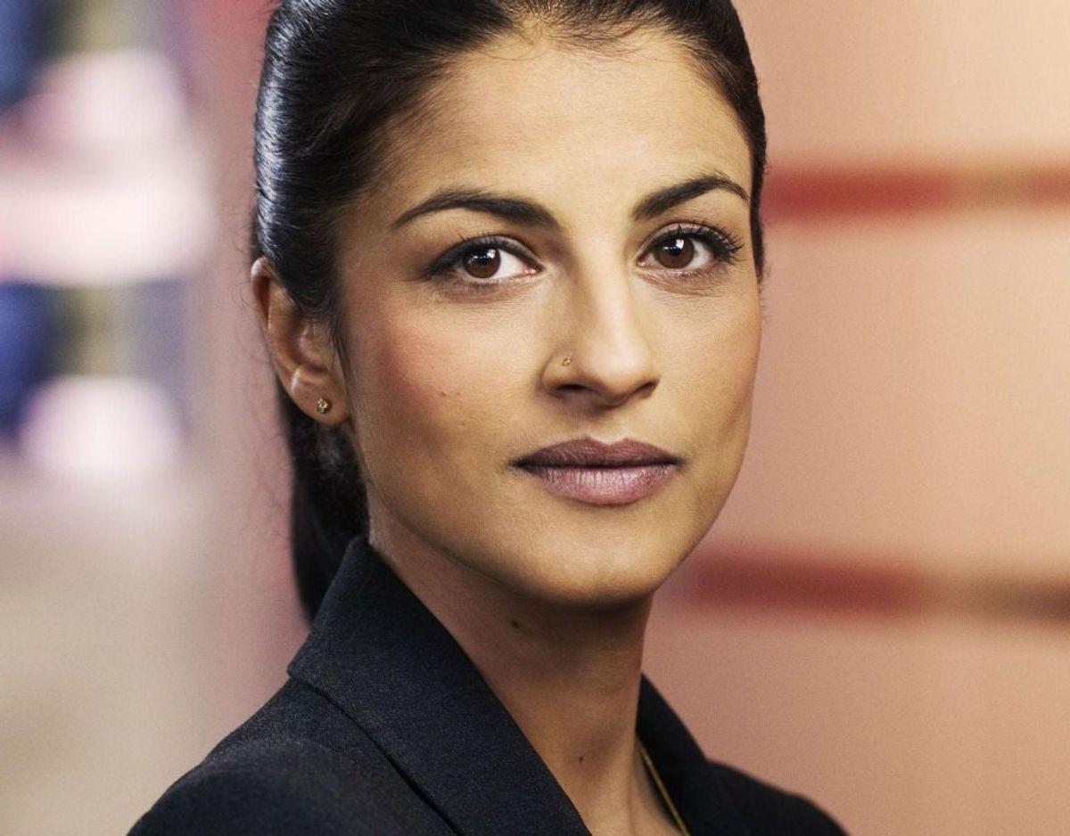 Divya Das bytter London ud med Bruxelles, når hun skal være EU-korrespondent for TV2. Foto: Miklos Szabo/TV 2/free