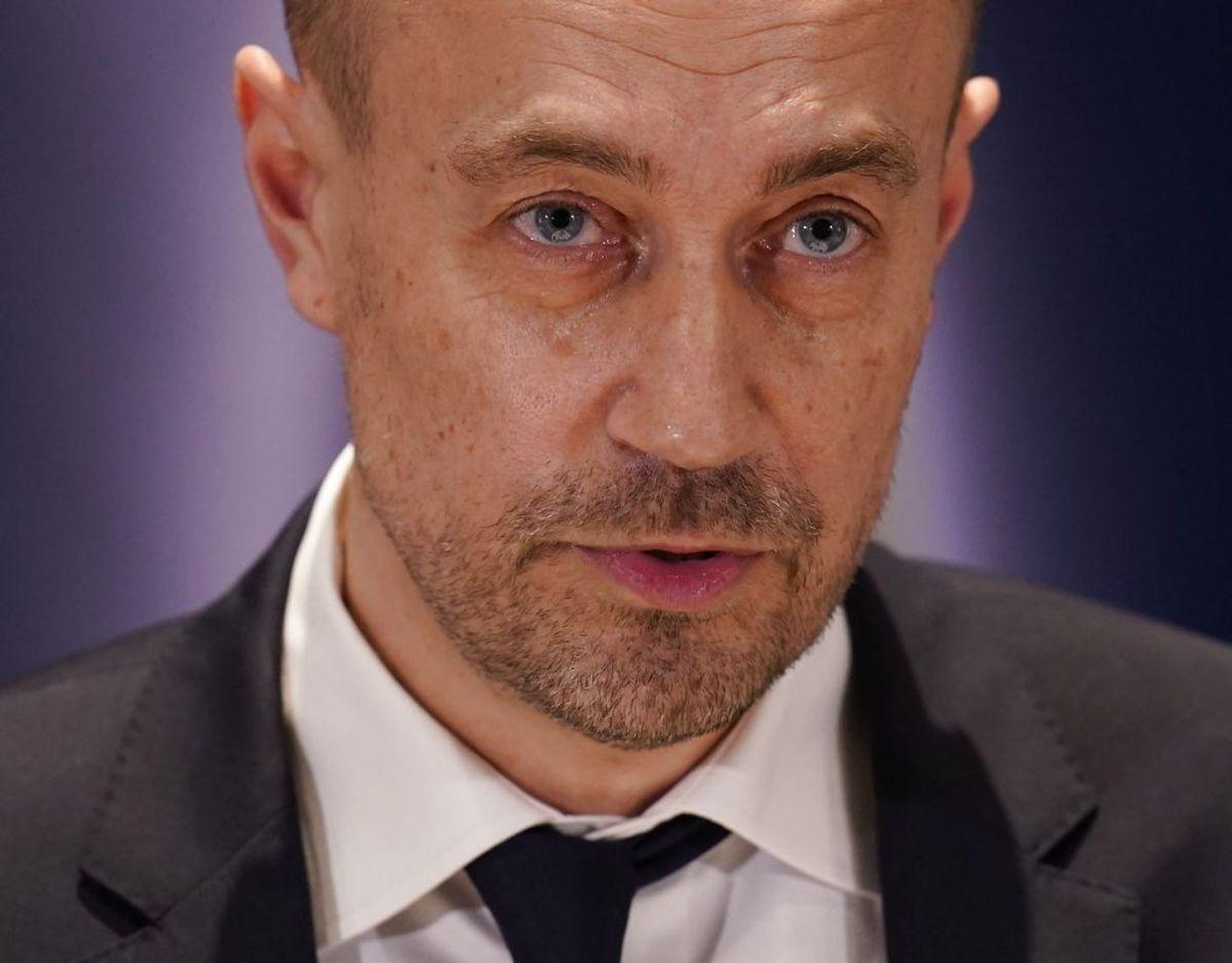 Sundhedsminister Magnus Heunicke (S) fortæller til TV2, at der bliver regnet på effekten af en eventuel regional åbning. Arkivfoto: Ritzau Scanpix.