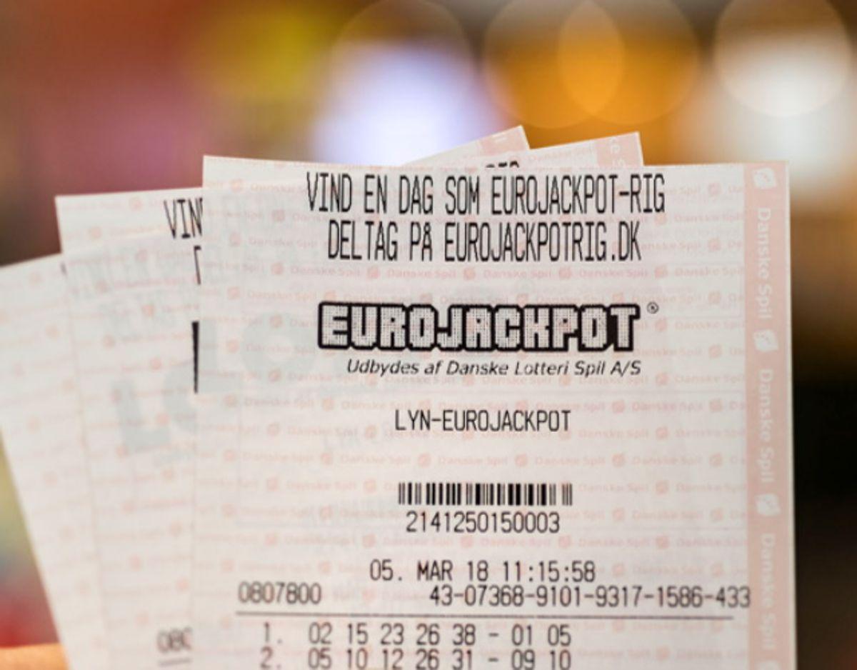Manden kan nu kalde sig millionær. Foto: Danske Spil.