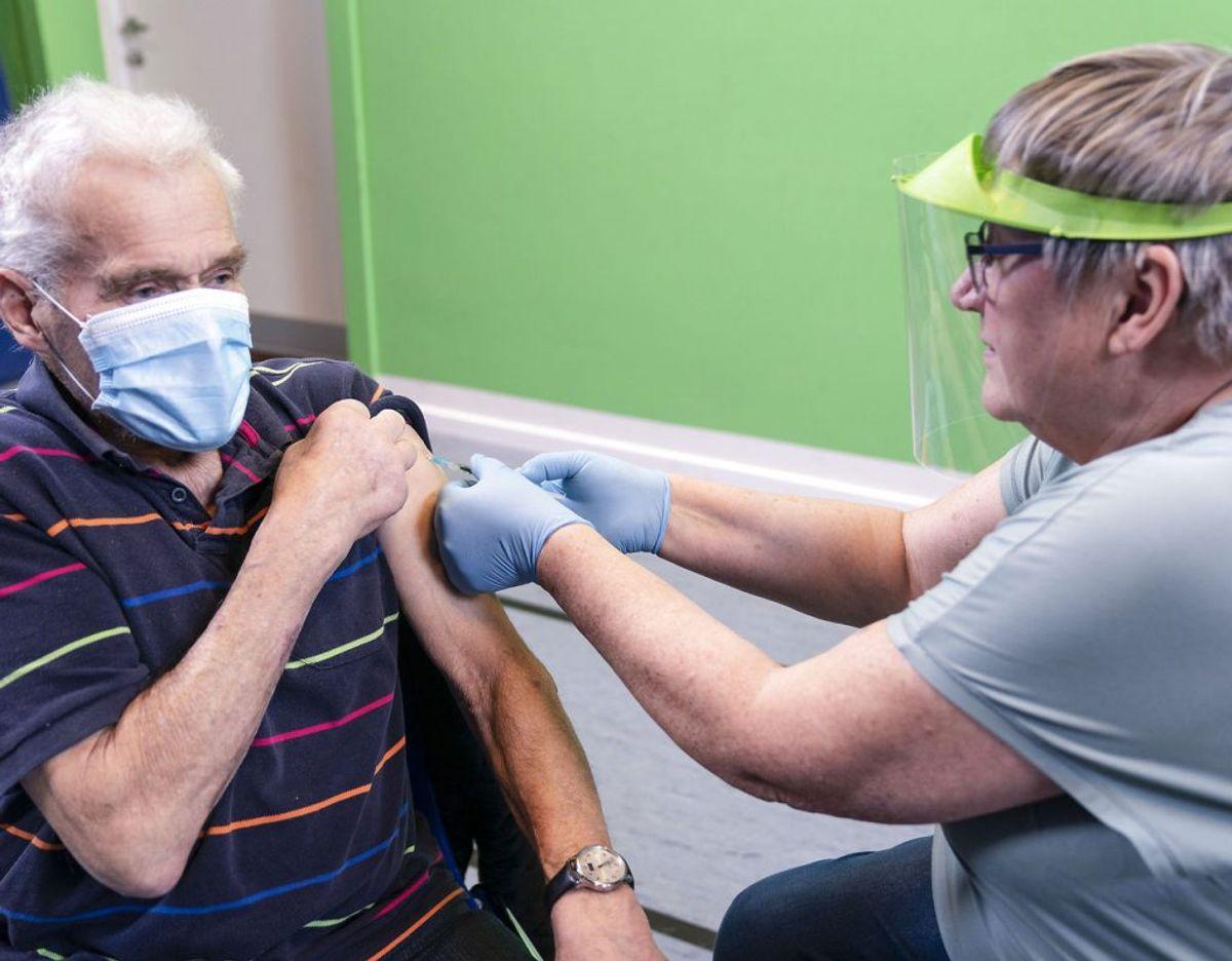 Danmark får – igen – færre vacciner, end der var stillet i udsigt. (Foto: Claus Fisker/Scanpix)
