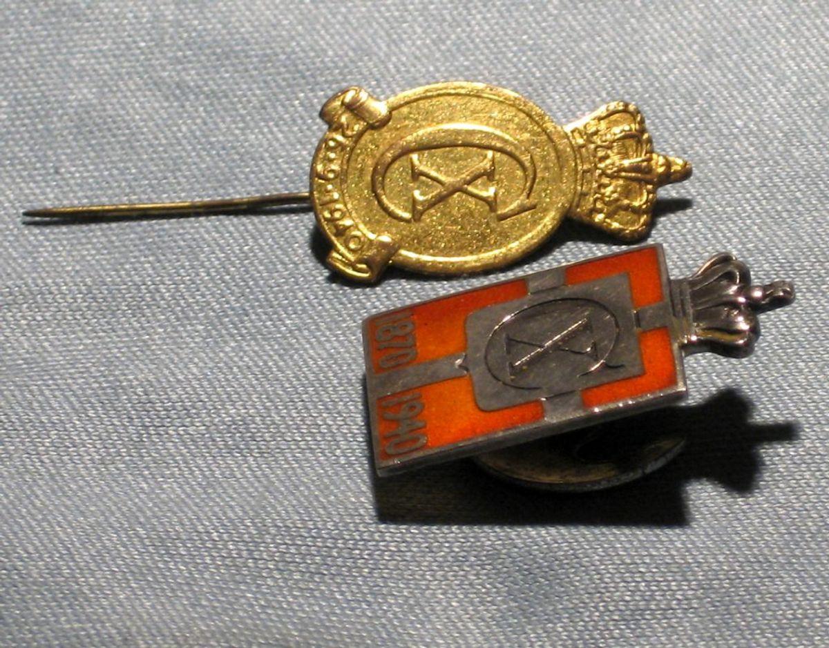 Kongemærket blev fremstillet i forbindelse med Christian 10.'s 70-års fødselsdag. Foto: Wikimedia