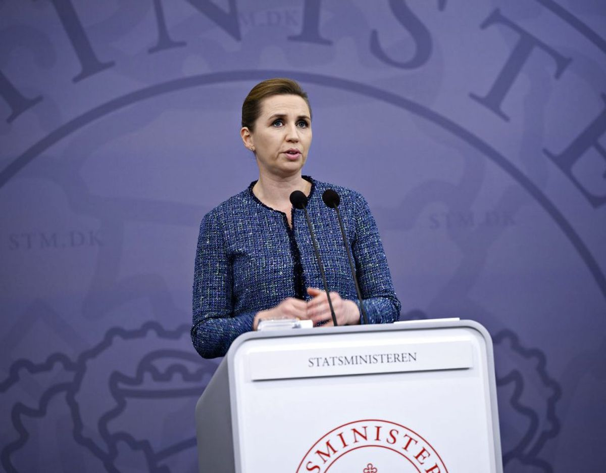 Statsminister Mette Frederiksen (S) har ikke længere samme opbakning fra danskerne. (Foto: Philip Davali/Scanpix)