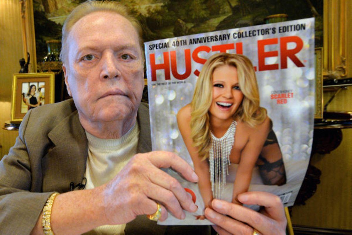 Larry Flynt ejede blandt andet magasinet Hustler. (Arkivfoto.) Foto: Mark Ralston/AFP