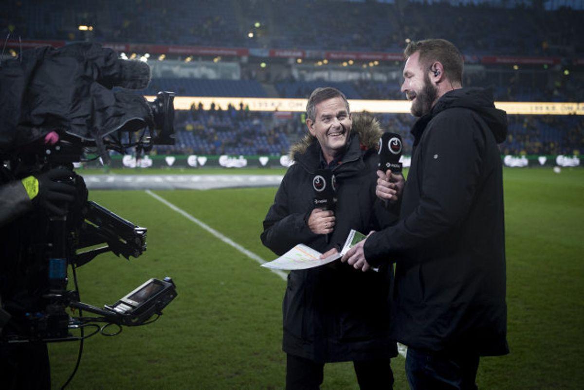 Carsten Werge (tv.) skifter fra TV3 til TV2. (arkivfoto). Foto: Liselotte Sabroe/Scanpix