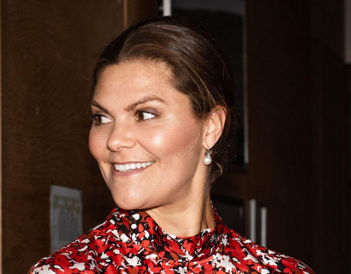 Den svenske Kronprinsesse Victoria forestod tirsdag den 9. februar åbningen af Stockholm Fashion Week. Klik videre for flere billeder. Foto: Scanpix/Ida Marie Odgaard/Ritzau Scanpix