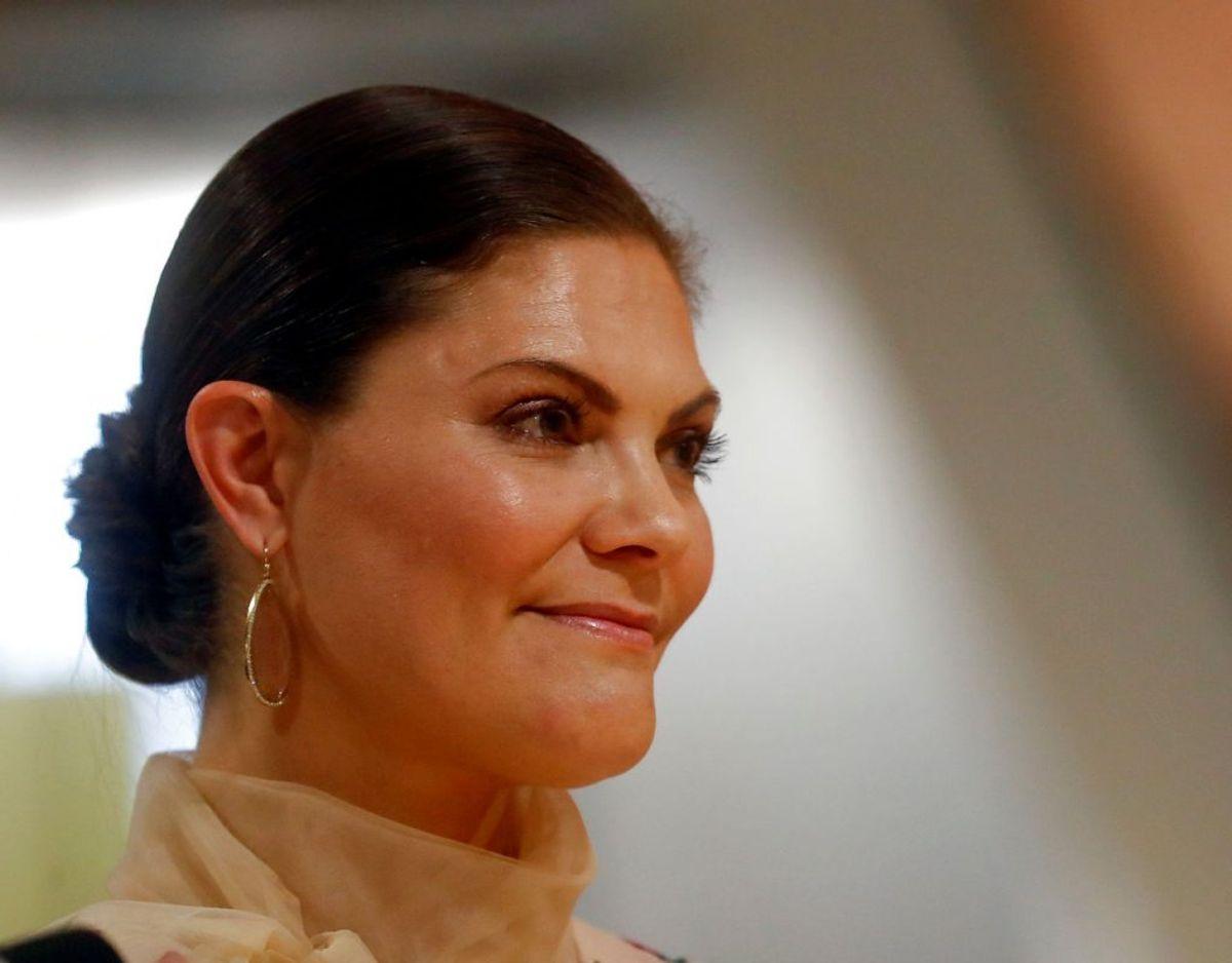 Kronprinsessen påpeger i sin tale, at 'inklusion og mangfoldighed' driver innovation. Foto: Scanpix/REUTERS/Ints Kalnins