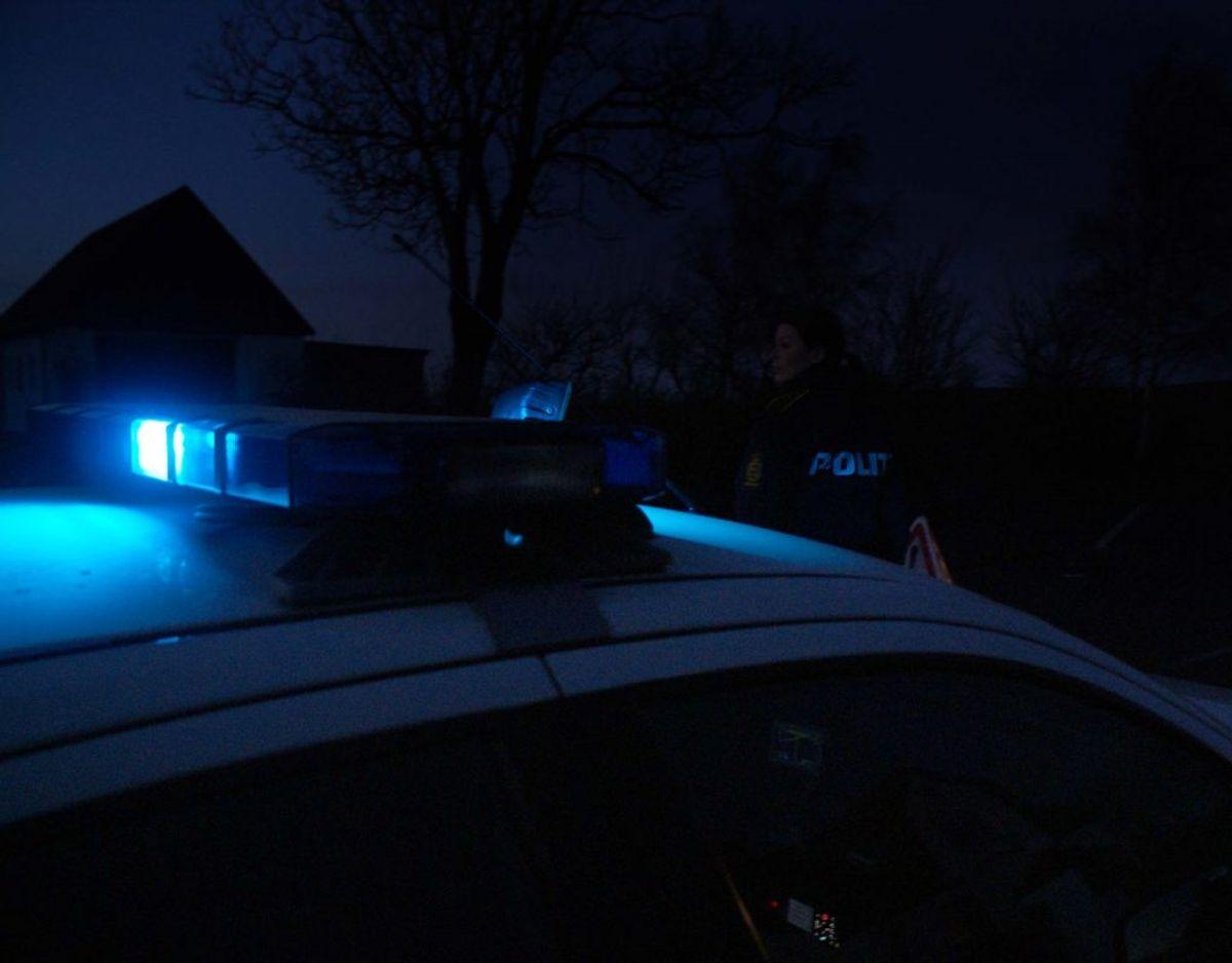 Politiet er på stedet. Genrefoto.