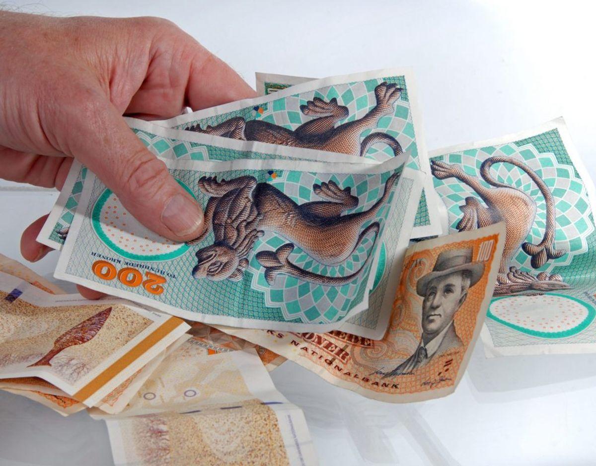 Det er lykkedes at hive et stort beløb ud af de, der har gældt til det offentlige. Foto: Colourbox.