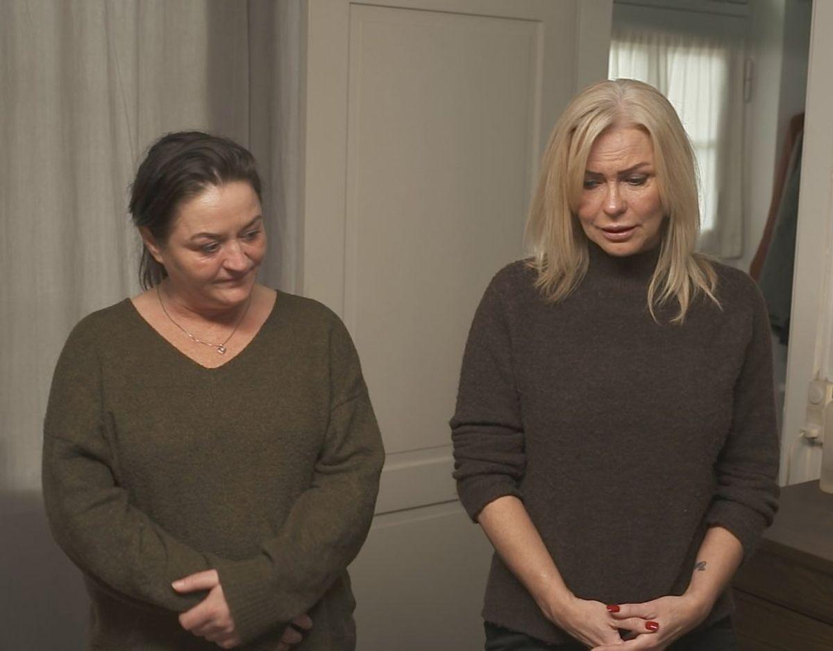 Alvoren går op for Mette (t.h.), da Luksusfældens eksperter viser, hvor mange penge, hun bruger. KLIK VIDERE OG SE FLERE BILLEDER. Pressefoto: Nordic Entertainment Group