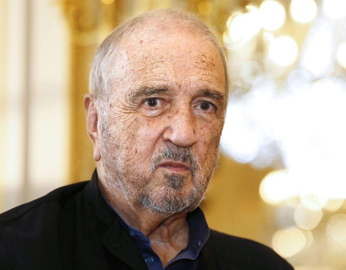 Jean-Claude Carriere døde mandag i sit hjem i Paris. Han blev 89 år gammel. Foto: Scanpix/PATRICK KOVARIK / AFP)