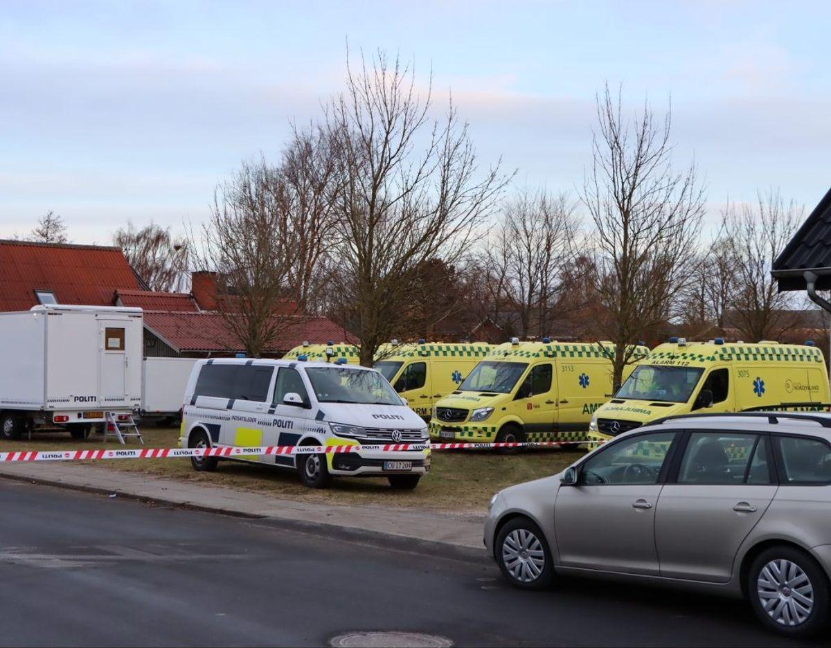 Der er formentlig tale om en tragisk ulykke, lyder det fra politiet. KLIK FOR FLERE BILLEDER. Foto: Presse-fotos.dk