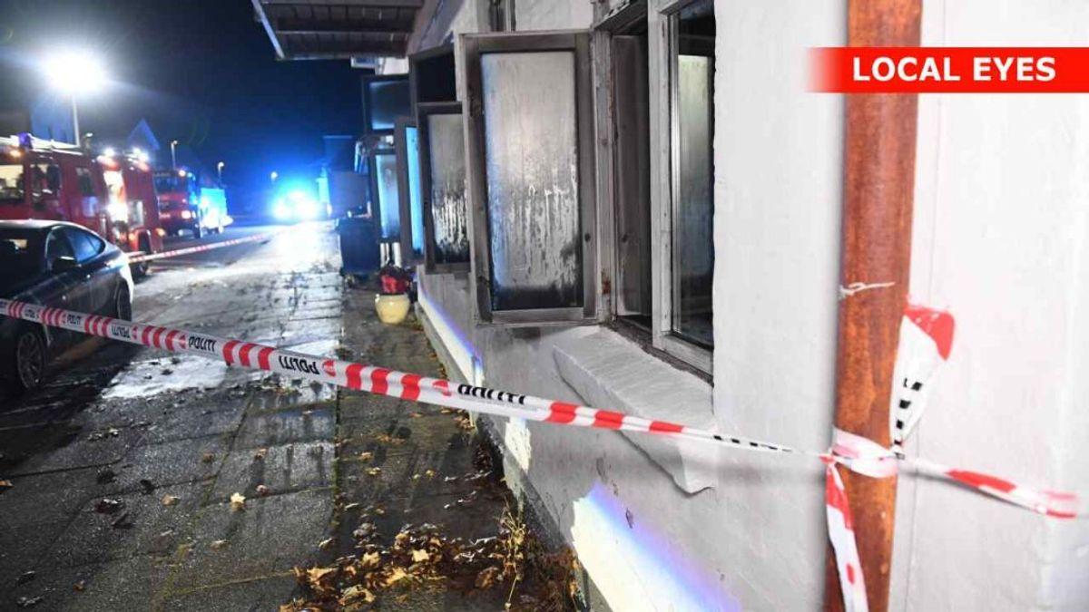 Mor og to børn er døde i branden. KLIK FOR FLERE BILLEDER. Foto: Localeyes.dk