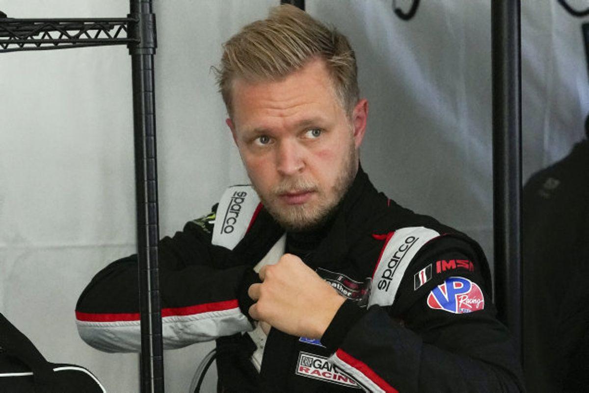 Kevin Magnussen skal blandt andet køre 24-timersløbet Le Mans for sit kommende hold, Peugeot. Foto: John Raoux/Scanpix