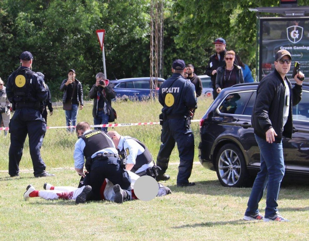 En 41-årig mand anklages for at orkestrere et drabsforsøg på Rasmus Paludan. KLIK FOR FLERE BILLEDER. Foto: Øxenholt Foto.