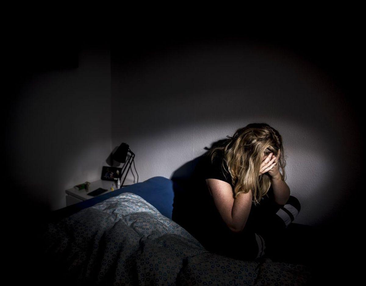 I rapporten kan man blandt andet læse, at hver femte LGBTQ+-elev flere gange om ugen har selvmordstanker. Modelfoto: Mads Claus Rasmussen/Ritzau Scanpix