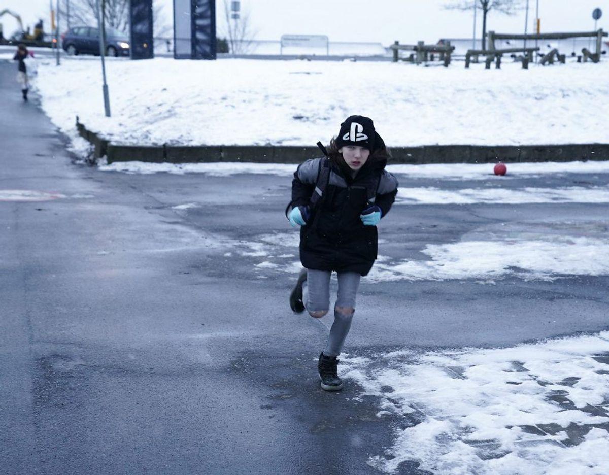 Her genåbning på Kildedamsskolen i Tølløse. Foto: Claus Bech/Scanpix