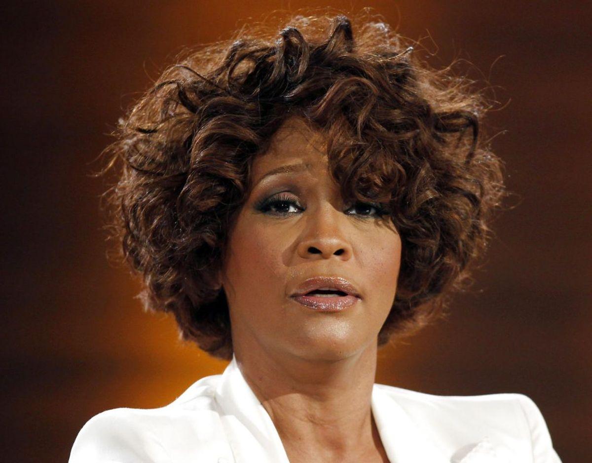 Whitney Houston sang tilbage i 1991. Klik videre for flere billeder. Foto: Scanpix/REUTERS/Johannes Eisele/Files