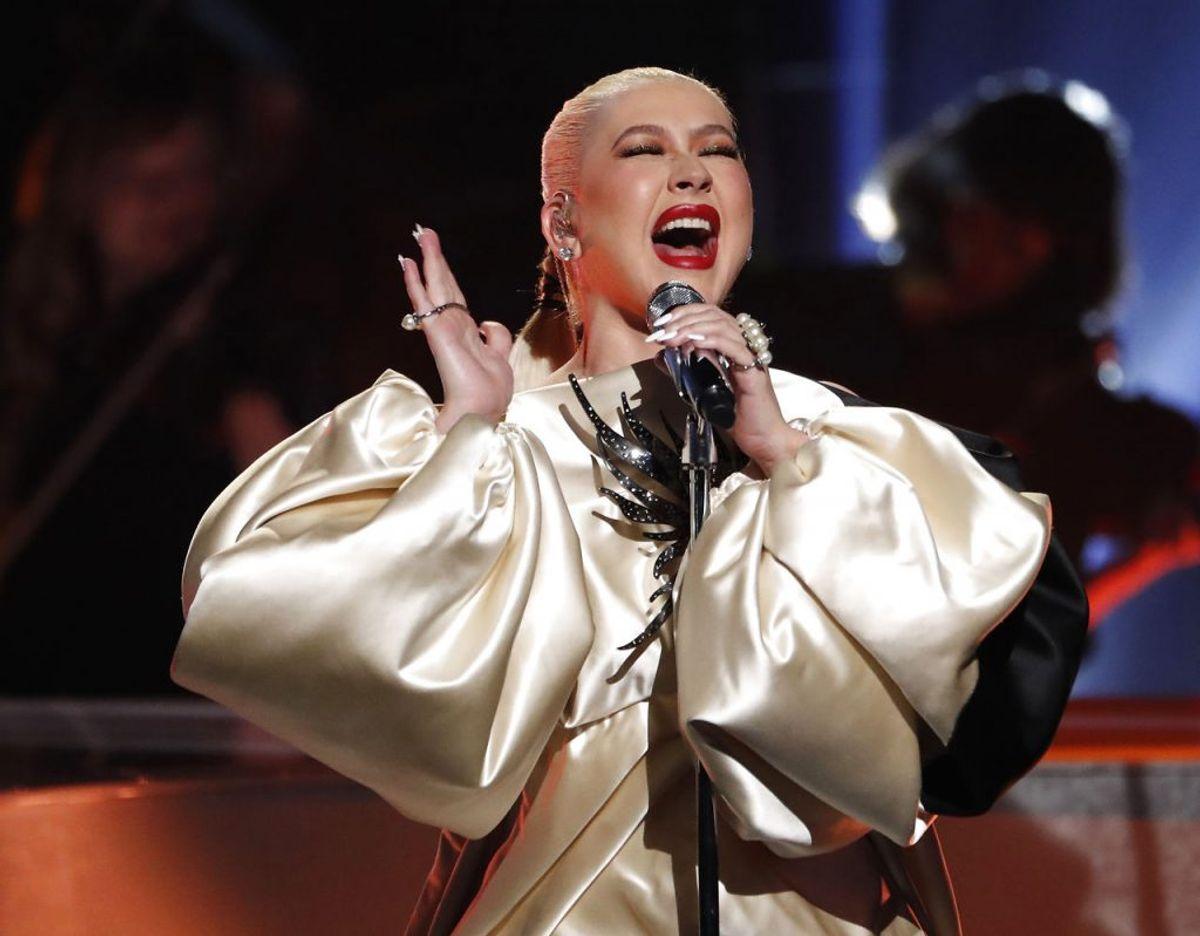 Christina Aguilera sang for i 2011. Klik videre for flere billeder. Foto: Scanpix/REUTERS/Mario Anzuoni