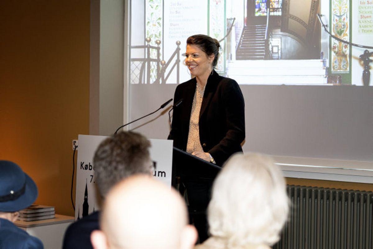 Kultur- og fritidsborgmester Franciska Rosenkilde er valgt til ny politisk leder for Alternativet. Foto: Ida Guldbæk Arentsen/Scanpix
