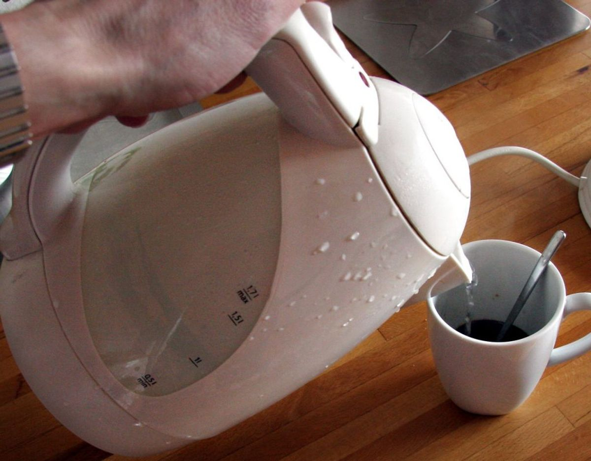 Du skal ikke koge varmt vand i din elkedel. Det er der flere årsager til – blandt andet dødelig sygdom. KLIK videre og læs hvorfor. Fotos: Scanpix / Kilde: Videnskab.dk