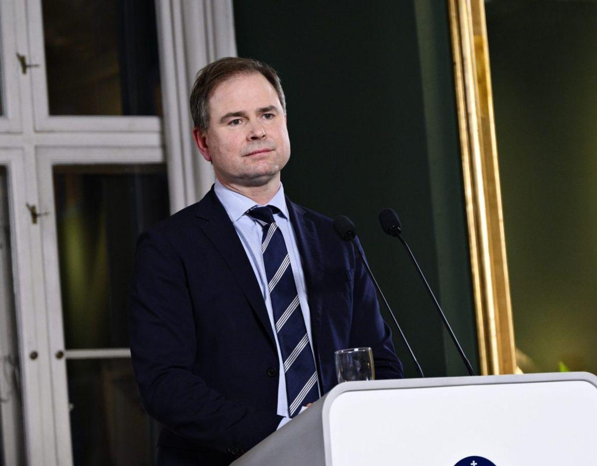 Finansminister Nicolai Wammen (S) var meget i vælten i 2020. Blandt andet i forbindelse med aftaler om hjælpepakker til erhvervslivet, der lider under coronakrisen. (Arkivfoto) – Foto: Philip Davali/Ritzau Scanpix