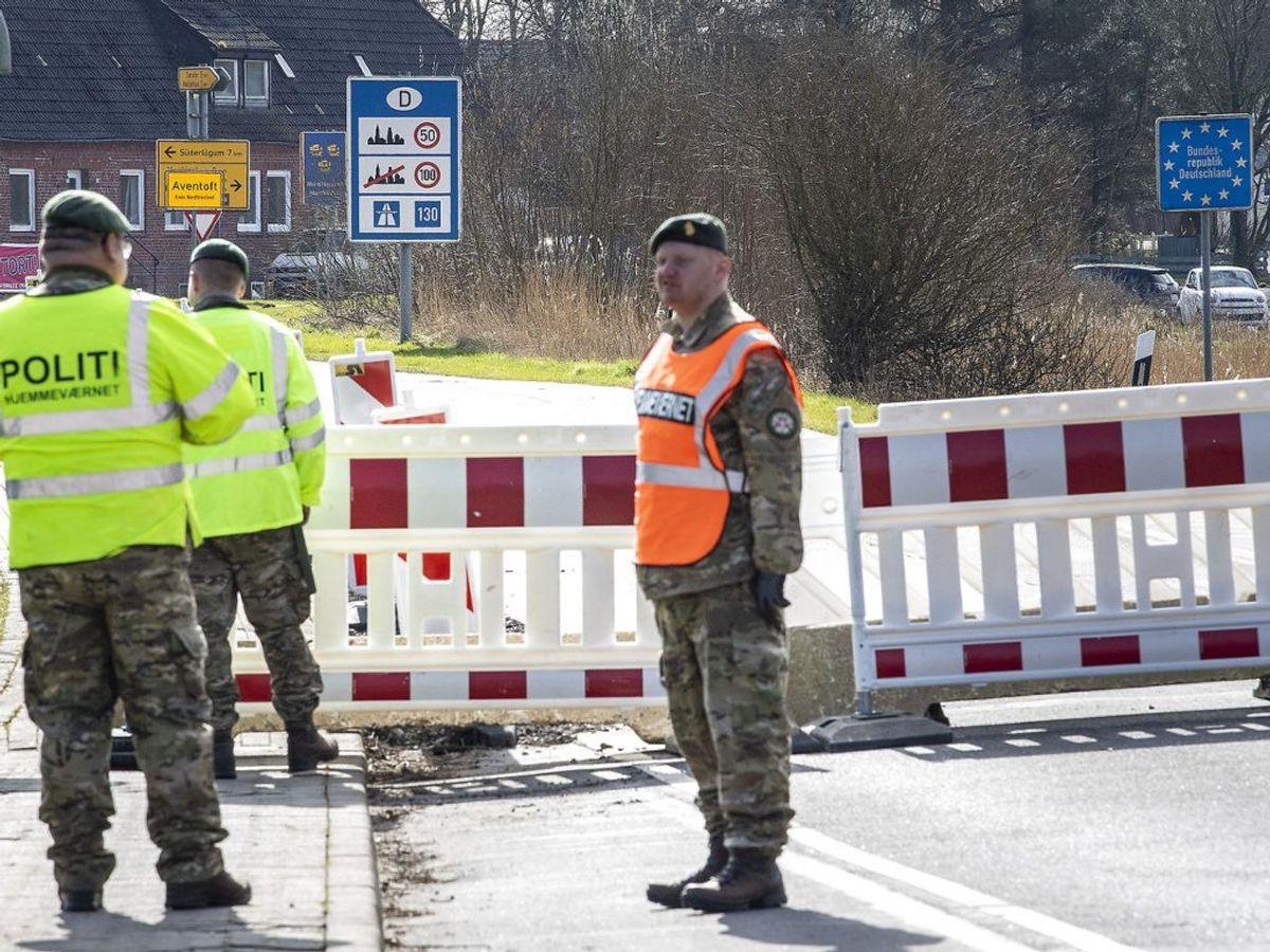 Søndag indføres krav om test og isolation ved indrejse til Danmark. KLIK og se billeder fra Newsbreak.dk's afdækning af de åbne grænser. (Foto: John Randeris/Ritzau Scanpix)